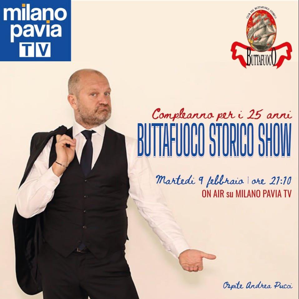 25 anni di Buttafuoco Storico diretta su Milano Pavia TV